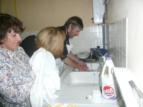 corvée de vaisselle