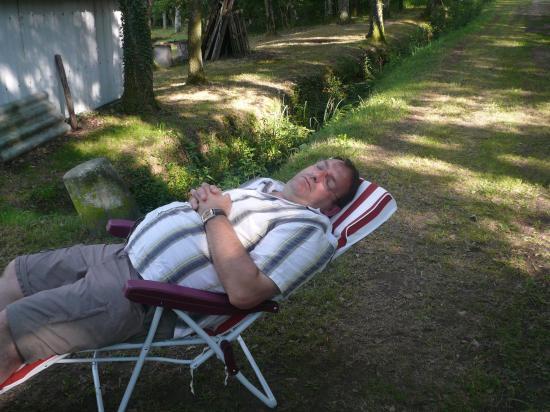 une sieste en solitaire