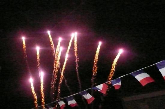 feu d'artifice juillet 2010
