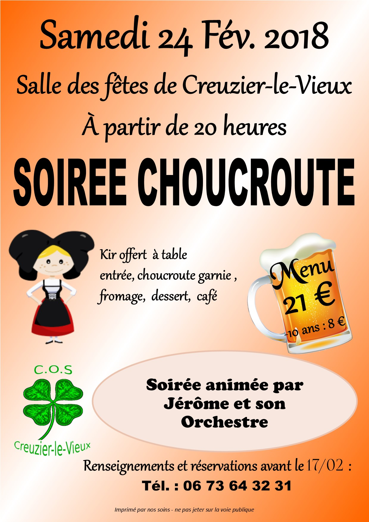 Choucroute 2018