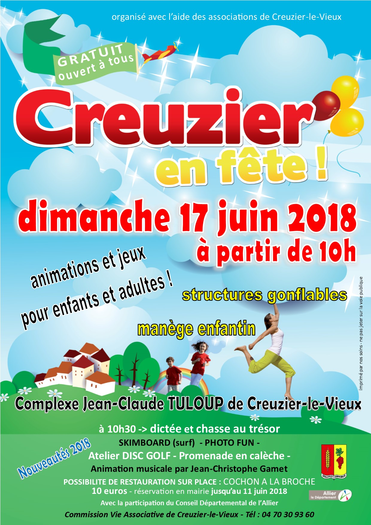 Creuzier en fete 17 juin 2018