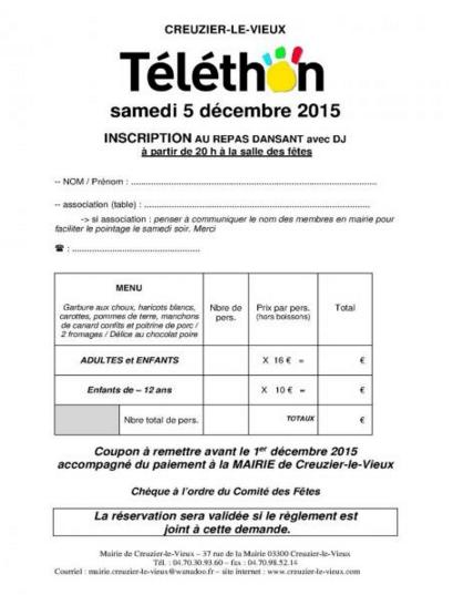Telethon inscriptions